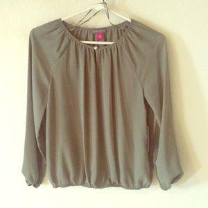 Olive green/sage Vince Camuto blouse